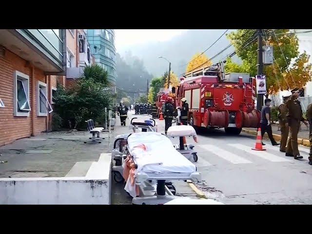 智利療養院瓦斯管線爆炸 3死50餘傷