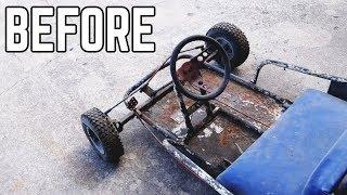 Streaker Kart Restoration: Ike's Adventures
