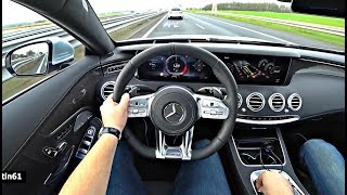 The New Mercedes AMG S63 4Matic+ Coupe 2018 Test Drive