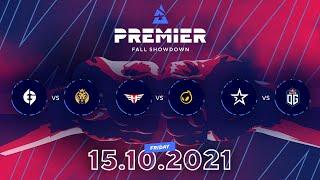 BLAST Premier Fall Showdown, Day 4: EG vs. MAD Lions, Heroic vs. Dignitas, Complexity vs. OG