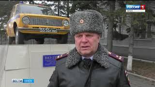 Омские госавтоинспекторы сегодня ночью остановили нетрезвого водителя