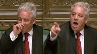 "Speaker John Bercow forced to bite the dust after telling MP Hands ""he wasn't very good Tory whip'"