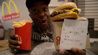 Travis Scott McDonalds Meal MUKBANG !!! | does it match the HYPE ?