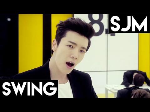Super Junior M: Swing Line Distribution (Color Coded)