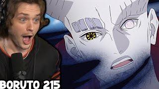 BORUTO SASUKE AND NARUTO VS ISSHIKI!!    Boruto Episode 215 Reaction
