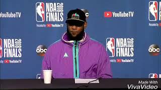 Lebron James confirmed leaving Cavs for Spurs next season | 2018 NBA Finals Game3 Postgame Interview