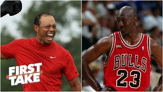 Tiger Woods or Michael Jordan: Who's the bigger sports icon? | First Take