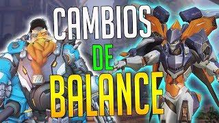 OVERWATCH: NUEVO BALANCE DE HÉROES! CAMBIOS A TORBJORN, PHARAH, ORISA, MCCREE... | Sr Jambo