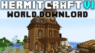 Hermitcraft Season Six World Download!
