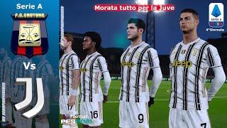 """PES 2021 • Crotone Vs Juventus • 4°Giornata """"Morata tutto per la Juve"""""""