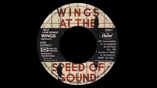 Wings ~ Silly Love Songs 1976 Disco Purrfection Version