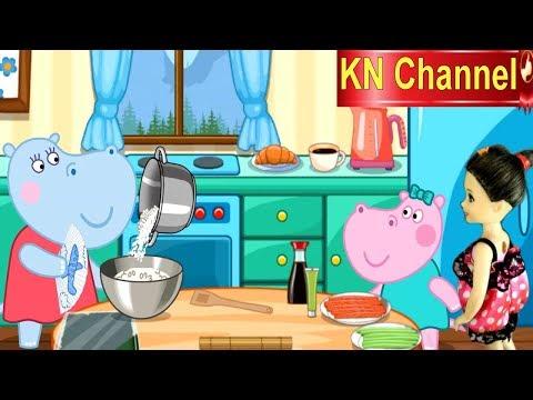 Trò chơi KN Channel BÚP BÊ LÀM NINJA | HƯỚNG DẪN LÀM SUSHI