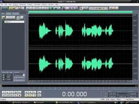 Como Editar La Voz Con Cool Edit Pro 2.0 Fácil Y Rápido  2012