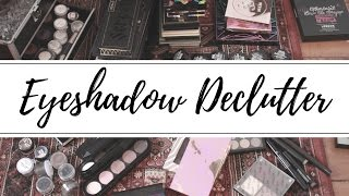 Eyeshadow Declutter: Another Step on the Road to Minimalism