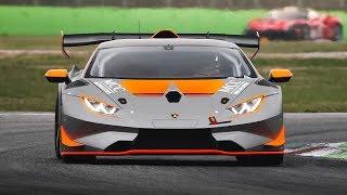 [3D Binaural Audio] GTs & Prototype Cars Testing at Monza Circuit!