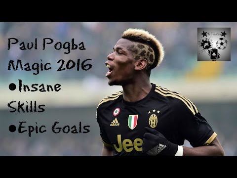 Paul Pogba Magic 2016 ● Insane Skills ● Epic Goals ●  I'm A Pro ● Welcome to Manchester United