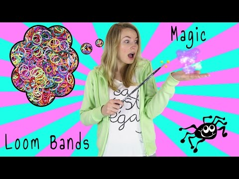 How To Loom Bands Magic Tricks! DIY 6 Magic Tricks with Rubber Band & Unboxing YouTube Play Button