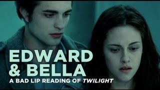 Edward and Bella  A Bad Lip Reading of Twilight