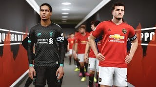 Man United vs Liverpool (COM vs COM) with New Signings | PES 2019