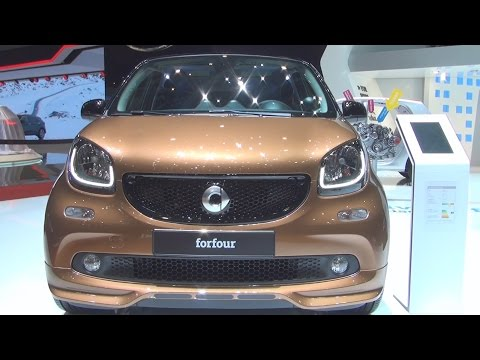 Smart Forfour 66 kW (2016) Exterior and Interior in 3D
