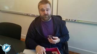 Robert Kirkman Unboxing the Negan Megabox!