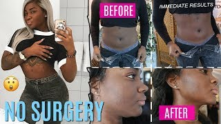 MY REVENGE BODY!! NO SURGERY! FAT REMOVAL!  LIPO + FACELIFT | GOING HARD IN THE GYM