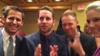 Ben Platt, Benj Pasek & Justin Paul learn about Periscope :-)