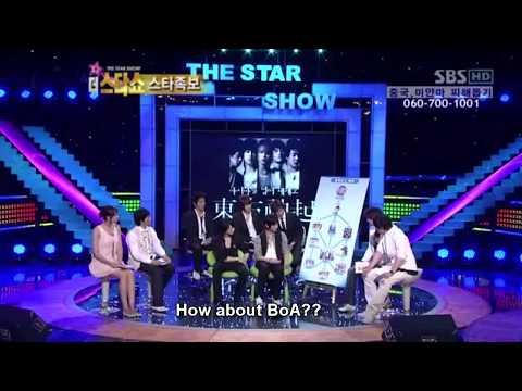 [eng sub] 080526 SBS Star Show - TVXQ,