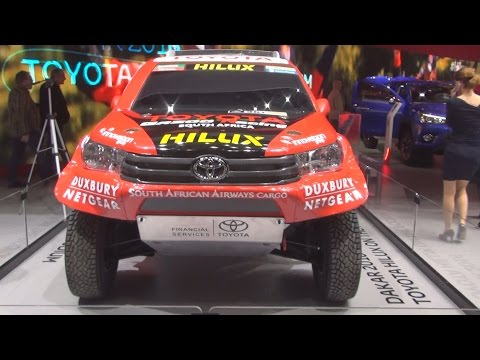 Toyota Hilux Gazoo Racing (2016) Exterior in 3D