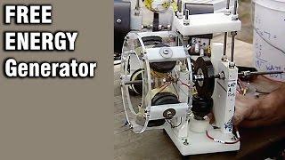 Free Energy Generator Overunity Motor Generator