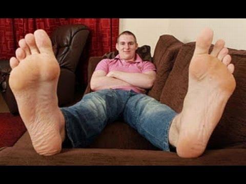 Biggest Feet in The World - Sam Preston 13 yrs Old - YouTube