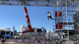 Joe Moravsky American Ninja Warrior 2018 - Vegas Finals Stages 2 and 3 Course Testing!