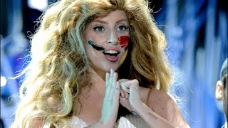 Lady Gaga - Applause (live) VMA's 2013 ᴴᴰ