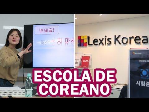 TOUR PELA MINHA ESCOLA DE COREANO EM SEOUL // Lexis Korea