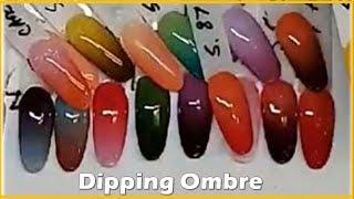 Chia Sẻ Cách Làm Dipping Ombre, Dip 1 Nốt Nhạc | David Hoang