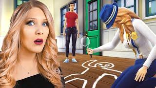 SOMEONE MURDERED MY SIM! (Sims 4 Murder Mystery Challenge)