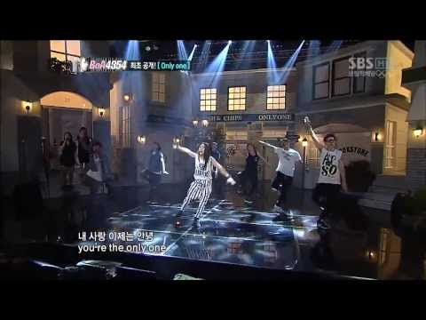 [Live HD 720p] BoA - Only One ft YunHo @ SBS Inkigayo