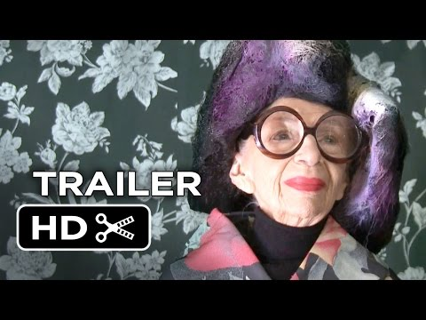 Iris Official Trailer 1 (2015) - Iris Apfel Documentary HD