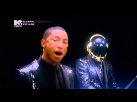 Baixar Daft Punk ft. Pharrell Williams - Get Lucky (Official MTV Video)