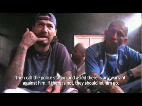 Lideres de la MS-13 hablan sobre la tregua; MS 13 leaders talk about El Salvador's gang truce.