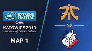 CS:GO - G2 vs fnatic [Mirage] Map 1 Ro4 - Challengers Stage - IEM Katowice 2019