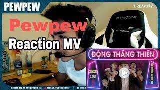 PewPew Reaction - Động Thăng Thiên - ( Quỳnh Búp Bê Parody ) - LEG | Cười Ỉa