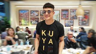 Jericho Rosales at the Kuya J Café + Restaurant grand opening