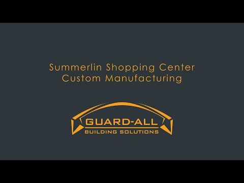 Custom Manufacturing: The Shops at Summerlin