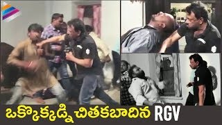 Ram Gopal Varma stunts performing video, NAGRGV4..