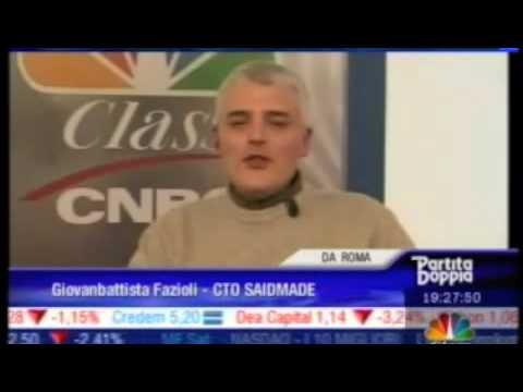 CNBC Class - Partita Doppia (Riassunto interventi Giovambattista Fazioli)