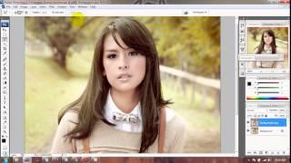 Tutorial Cara Mewarnai Rambut dengan Photoshop - animegue.com