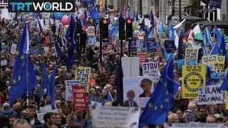 Brexit Battle: One million march for second referendum