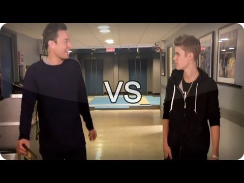 Baixar Jimmy Fallon vs Justin Bieber (Late Night With Jimmy Fallon)
