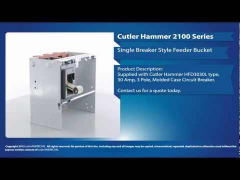 Cutler Hammer 2100 Series Single Breaker Style Feeder Bucket
